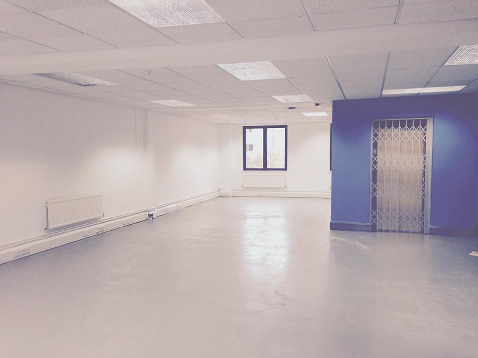 Blue floor 1