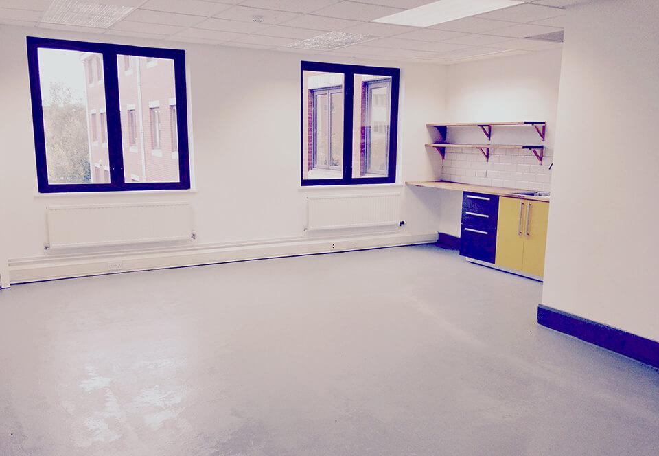 Blue floor 3