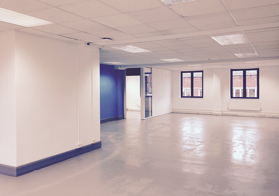 Blue floor 5